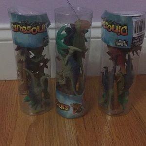 Bundle of 3 dinosaur figurines